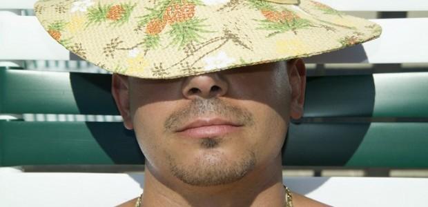 Man Relaxing Under the Sun