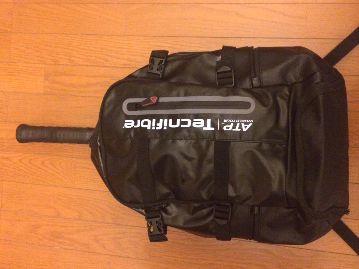 リュック型テニスバッグ『PRO ATP バックパック』はテニス以外でも使えすぎる話